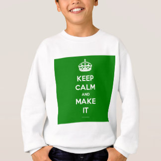 keep calm template generated sweatshirt