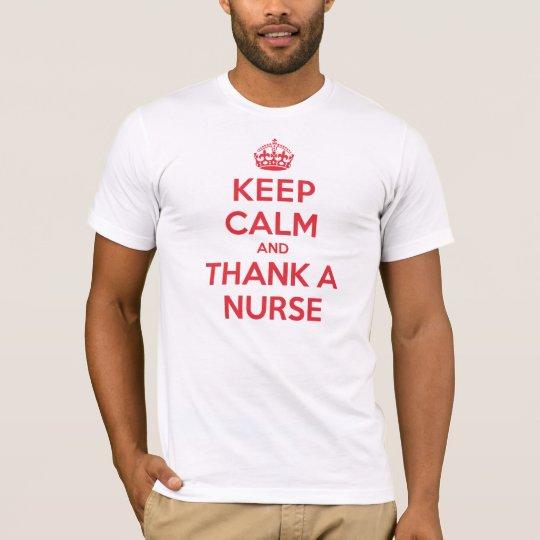 Keep Calm Thank Nurse T-Shirt