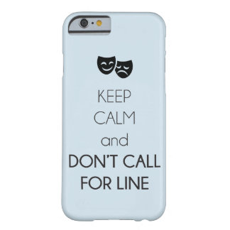 """Keep Calm"" Theatre Phone Case"