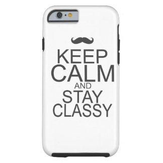 Keep Calm Tough iPhone 6 Case