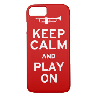 Keep Calm Trumpet iPhone 7 Case