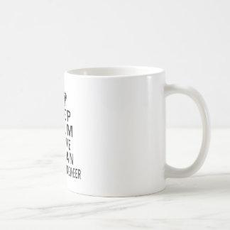 Keep Calm Trust Me I Am An Aerospace engineer Basic White Mug