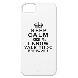 Keep Calm Trust Me I Know Vale Tudo Martial Arts iPhone 5/5S Cover