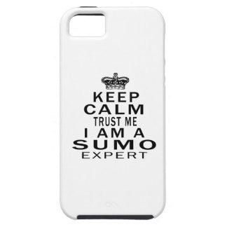 Keep calm trust me I'm a Sumo expert iPhone 5 Cover