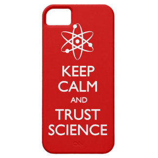 Keep Calm Trust Science Barely There iPhone 5 Case