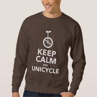 Keep Calm & Unicycle Sweatshirt