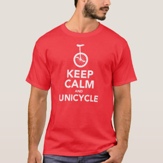 Keep Calm & Unicycle T-Shirt