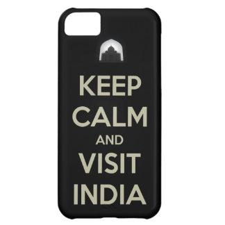 keep calm visit india iPhone 5C case
