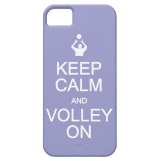 Keep Calm & Volley On custom color iPhone case iPhone 5 Cases