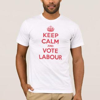 Keep Calm Vote Labour T-Shirt