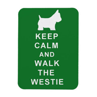 KEEP CALM WALK THE WESTIE MAGNET BIRTHDAY PRESENT