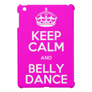 Keep calm wild duck bellydance iPad mini cover