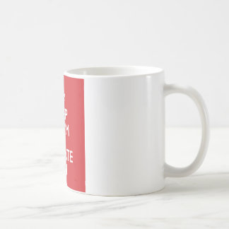 Keep calm wild duck iterate on coffee mug
