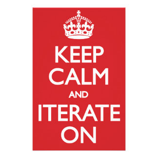Keep calm wild duck iterate on stationery paper