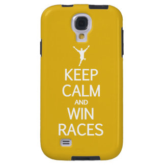 Keep Calm & Win Races custom color cases