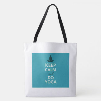 Keep Calm Yoga Tote