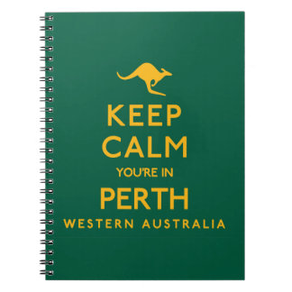 Keep Calm You're in Perth! Notebook