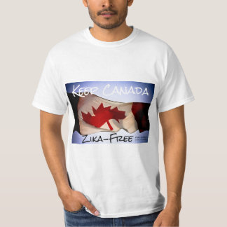 Keep Canada Zika-Free by RoseWrites T-Shirt