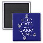 Keep Cats Fridge Magnet