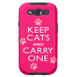 Keep Cats Galaxy S3 Cover