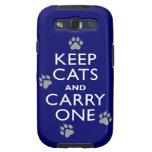 Keep Cats Galaxy SIII Case