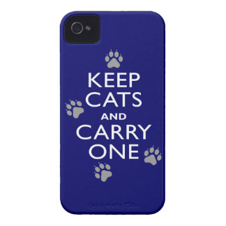 Keep Cats iPhone 4 Case-Mate Cases