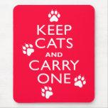 Keep Cats Mouse Mats
