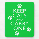 Keep Cats Mousemats