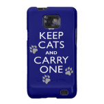 Keep Cats Samsung Galaxy S2 Cover