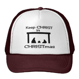 Keep CHRIST In CHRISTmas Hat / Cap