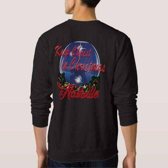 Keep Christ in Christmas Men's Sweatshirt