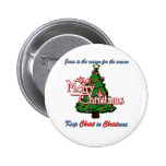 Keep Christ in Christmas Pinback Buttons