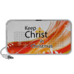 Keep Christ in Christmas, Swirl Mini Speakers