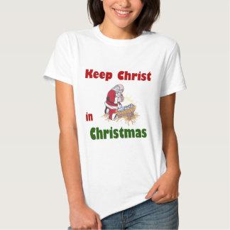 Keep Christ in Christmas Tshirts