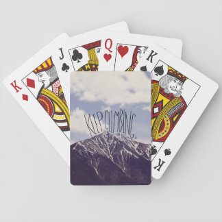 Keep Climbing Playing Cards