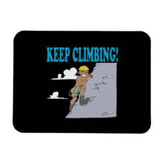 Keep Climbing Magnet