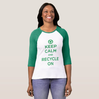 """Keep Cool And Recycle"" T-Shirt"