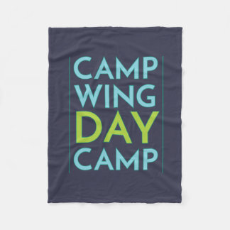 Keep Cozy with CWDC Fleece Blanket