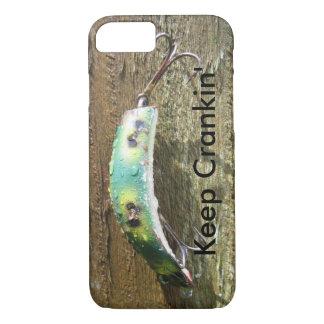 Keep Crankin' Old Fishing Lure iPhone 7 Case