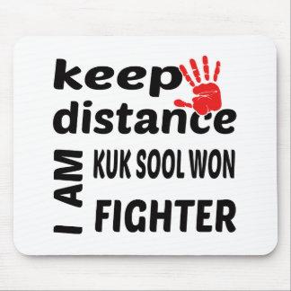 Keep Distance I  am Kuk Sool Won Fighter Mouse Pad