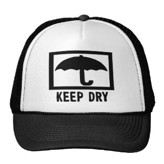 Keep Dry Mesh Hats