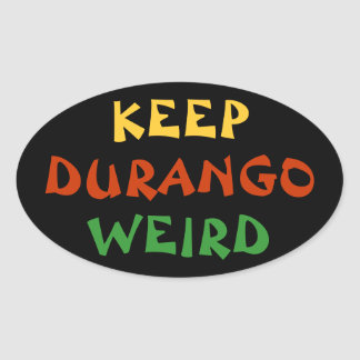 Keep Durango Weird Sticker