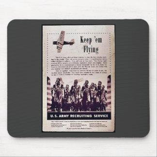 Keep Em Flying Mouse Pads