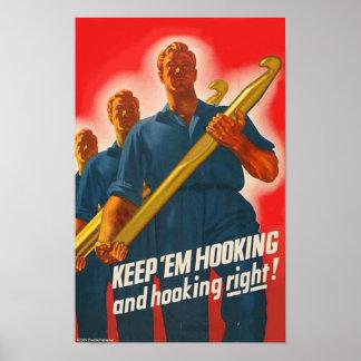 Keep 'em Hooking - poster