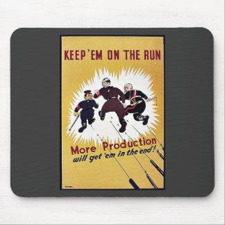 Keep Em On The Run Mousepad