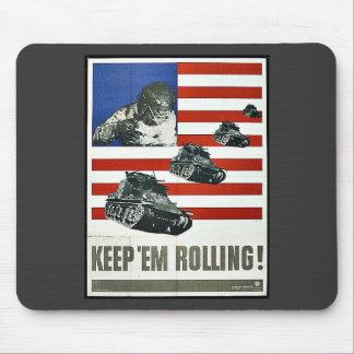 Keep Em Rolling Mouse Pad