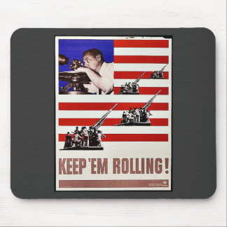 Keep Em Rolling Mouse Pads