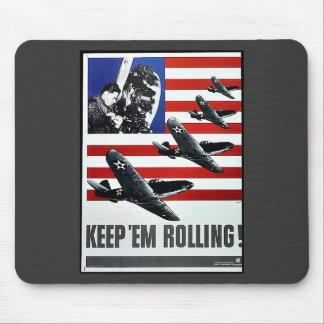 Keep Em Rolling Mousepad