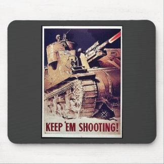 Keep Em Shooting Mousepad