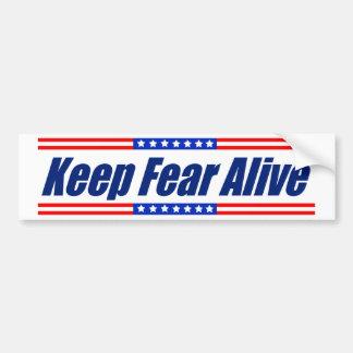 Keep Fear Alive Bumper Sticker